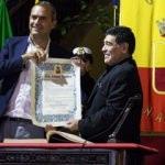 Maradona'ya fahri vatandaşlık verildi!