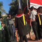 ODTÜ'de güvenlik görevlisi veliye kafa attı!