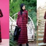 Tesettür modasının vazgeçilmezi: Ekose elbiseler