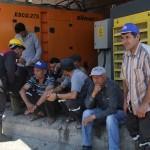 Ermenek'te maden işçilerinden iş bırakma eylemi
