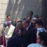 Cumhurbaşkanı Erdoğan şehitlere Kur'an okudu