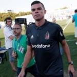Pepe'den Atınç Nukan'a geçmiş olsun mesajı