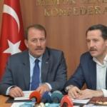 Yalçın: Büyüyen Türkiye'den payımızı istiyoruz