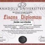 2017 (AÖF) diplomaları ne zaman verilecek?