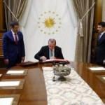 Erdoğan Yüksek Askeri Şura Kararlarını onayladı