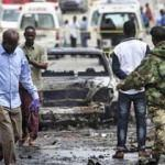 Bomba yüklü araç patladı: 10 yaralı
