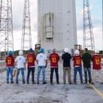 Totti'nin forması uzaya gönderildi
