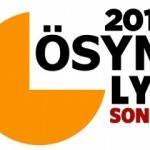 2017 LYS tercih sonuçları ÖSYM sorgu sayfası