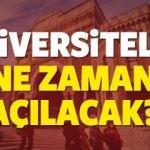 2017 - 2018 Üniversiteler ne zaman açılacak?