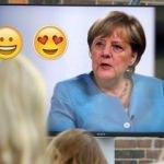 İşte Merkel'in en sevdiği emoji!