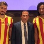 Yeni Malatyaspor'da çifte imza