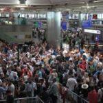 Atatürk Havalimanı'nda şimdiden yoğunluk başladı