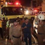 Türk hacı adaylarının kaldığı otelde yangın çıktı!