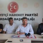"MHP Tekirdağ İl Başkanlığı'ndan ""istifa"" açıklaması"