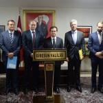 Avrupa Birliği heyeti Giresun'daki projeleri inceledi
