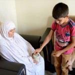 Suriyeli yetimler harçlıklarını Arakan'a yolladı