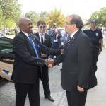 Ruanda'nın Ankara Büyükelçisi Nkurunziza Uşak'ta
