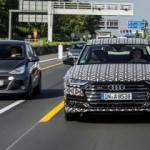 Audi'den sıkışık trafikte ilginç çözüm!
