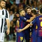 Barcelona, Juventus'u ezdi geçti!