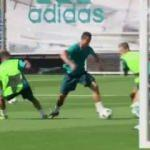 Ronaldo'dan futbola küstüren çalımlar ve gol