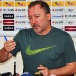 Sergen Yalçın istifa iddialarına yanıt verdi