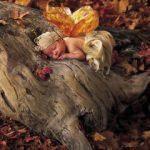 Sonbahar mevsimine yakışan en iyi bebek pozları