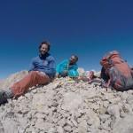 İzmirli dağcılar Kayseri'deki Vay Vay dağına tırmandı
