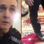 İngiltere'de polis camiye postalla girdi!