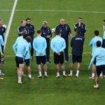 A Milli Takım İzlanda maçına hazır