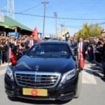 Ülkede Erdoğan'a coşkulu karşılama