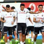 Beşiktaş'ta iki isim kadroya alınmadı