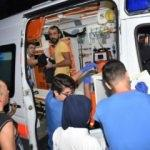 Beton dökülürken iskele çöktü; 7 işçi yaralandı