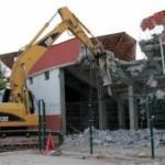 Elazığ Atatürk Stadyumu'nda yıkım başladı