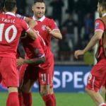 Sırbistan altın golle bileti kaptı