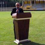 Veteran futbolcular Arakanlı Müslümanlar için mücadele etti