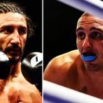 Kick boks maçından önce ve sonra boksçular
