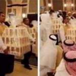 Düğüne gelen herkese iPhone 8 hediye edildi