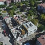 Mevlana Spor Merkezi inşaatı hızla ilerliyor