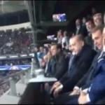 Erdoğan, Cenk'in golü sonrası böyle sevindi