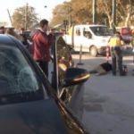 Kabataş'ta otomobilin çarptığı kadın öldü!