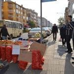Lüleburgaz'da seyyar satıcı denetimi