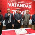 Vatandaş Gazetesinin 70. kuruluş yıl dönümü