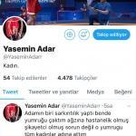 """Yasemin Adar'dan """"sahte hesap"""" açıklaması"""