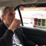 Bu takside yiyecek, içecek, internet bedava
