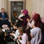 Cumhurbaşkanı Erdoğan, Şehit Eren'i unutmadı