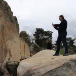 """Define bulmak için """"antik kayayı"""" ikiye ayırdılar"""
