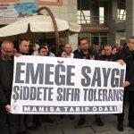 Alaşehir'de doktora darp iddiası
