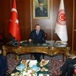 Erdoğan, Kahraman ve Yıldırım'la bir araya geldi