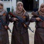 Fırat Kalkanı bölgesinin kadın polisleri!