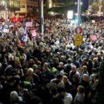 İsrail karıştı! Binler sokağa döküldü